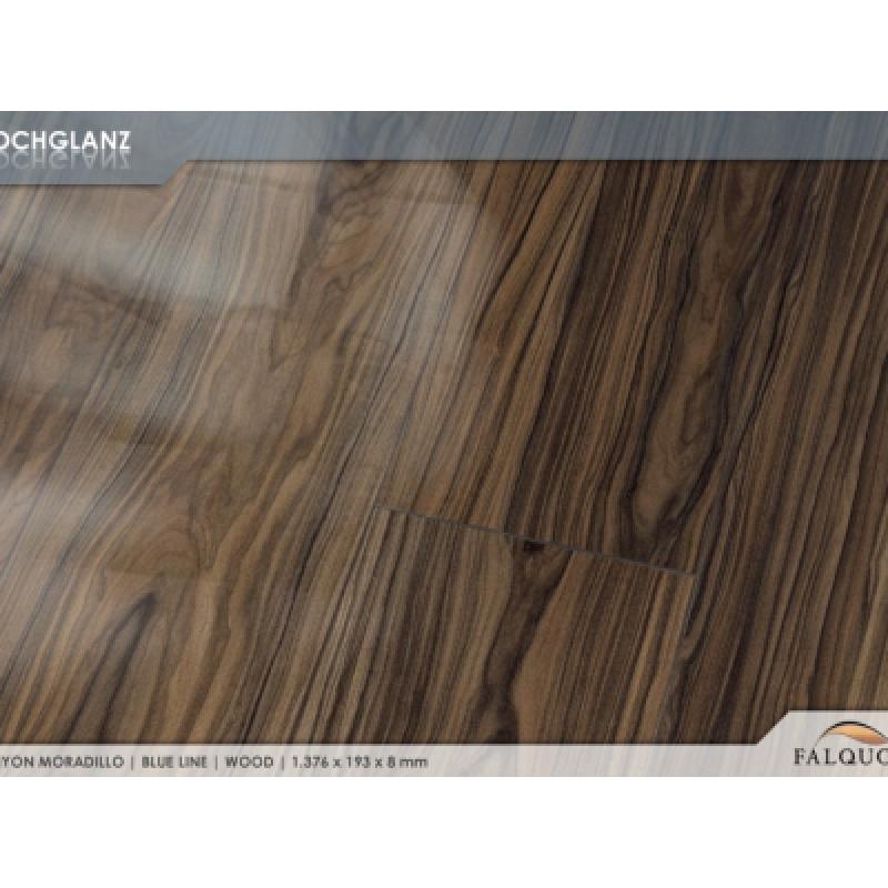 Ламинат Фалькон Blue Line Wood 8 мм глянцевый Canyon Moradillo