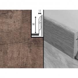 Плинтус для пола МДФ Квик Степ 58x12x2400 мм QSSKR 01379 Доска дуба почтенного серого промасленного