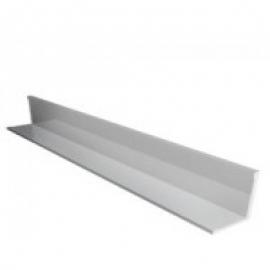 Пристенный уголок стальной Албес 19х19х3000мм (цвет белый)