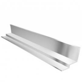 Профиль Албес PLL  белый стальной под кромку Tegular (А8) L=3.00 м